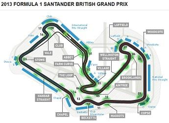 F1 Silverstone circ