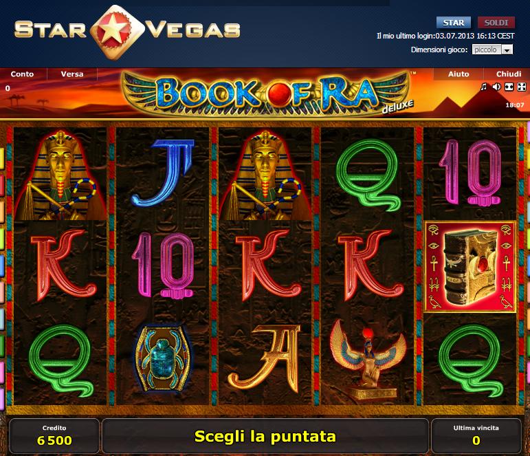 book of ra star vegas