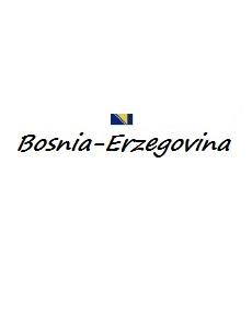 Bandiera e titolo Bosnia