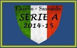img SERIE A Chievo - Sassuolo