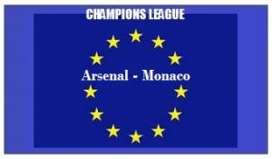 img generale Champions L Arsenal - Monaco