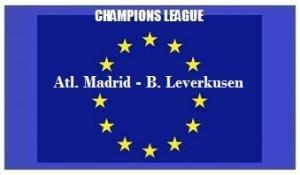 img generale Champions L Atletico Madrid - Bayer Leverkusen