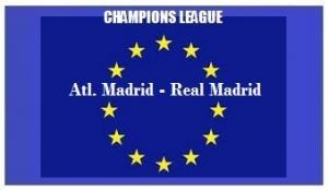 img generale Champions L Atletico Madrid - Real Madrid