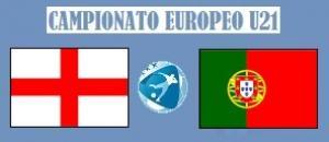 Europeo U21 Inghilterra - Portogallo