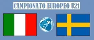 Europeo U21 Italia - Svezia