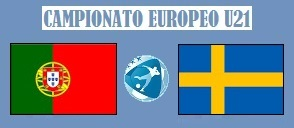 Europeo U21 Portogallo - Svezia