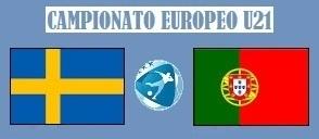 Europeo U21 Svezia - Portogallo