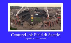 CenturyLink Field di Seattle, Washington