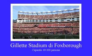 Gillette Stadium di Foxborough, Massachusetts