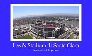 Levi's Stadium di Santa Clara, California