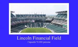 Lincoln Financial Field di Philadelphia, Pennsylvania