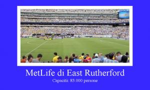 MetLife Stadium di East Rutherford, New Jersey