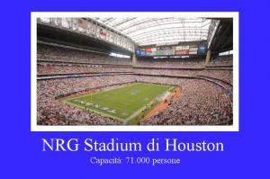 NRG Stadium di Houston, Texas