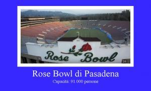 Rose Bowl di Pasadena, California