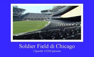 Soldier Field di Chicago, Illinois