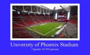 University of Phoenix Stadium di Glendale, Arizona