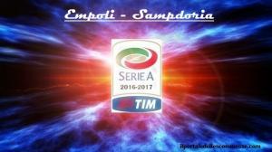 img serie A 16_17 Empoli - Sampdoria