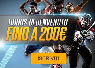 Netbet nuovo bonus benvenuto 200 euro