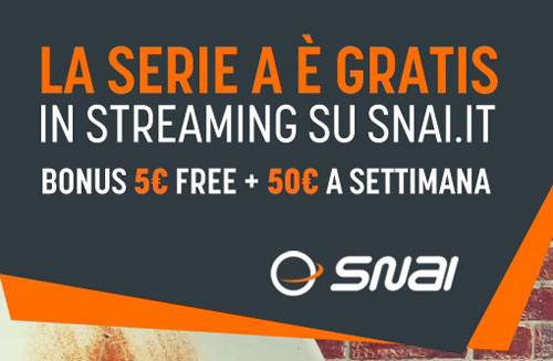 snai streaming legale serie a